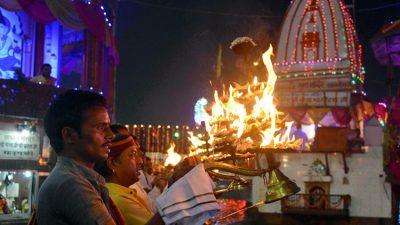 Ganga-Aarti-in-Haridwar