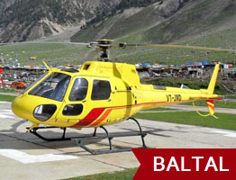 Amarnath Yatra by Helicopter from Baltal