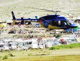 Amarnath Helicopter Package from Pahalgam