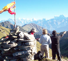 Lord Curzon Trail Kuari Pass Trek